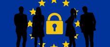 EU stars with GDPR padlock